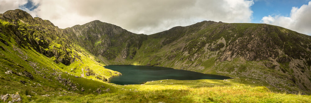 Cadair Idris and Llyn Cau