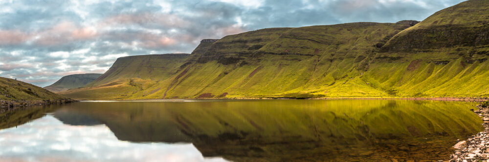 Llyn Y Fan Fach reflections