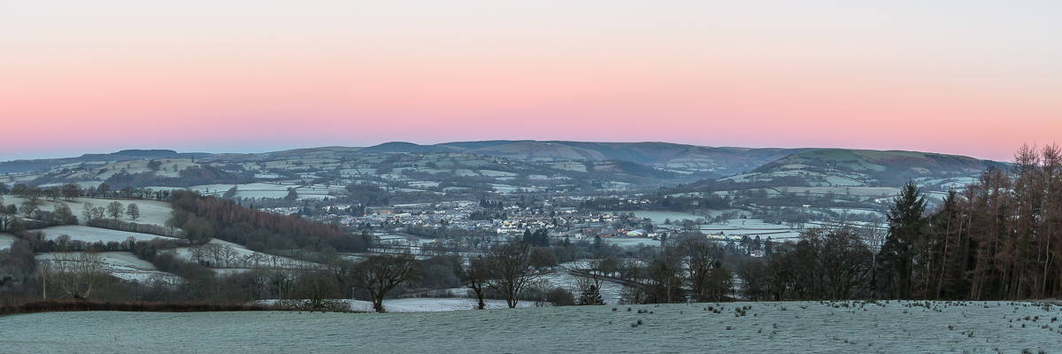 Morning above Llandovery