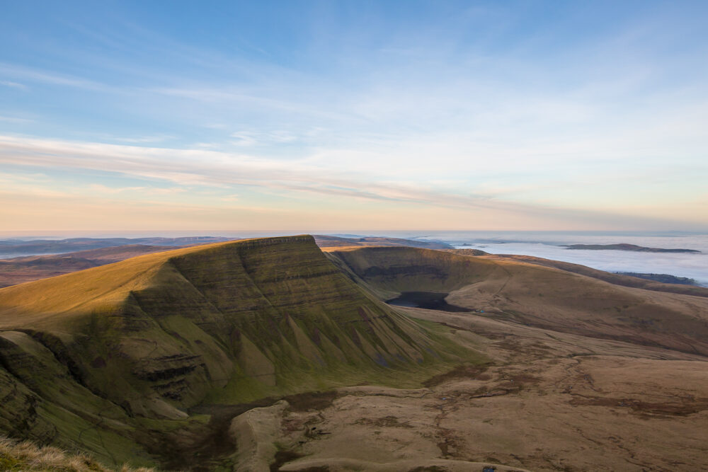 Llyn y Fan Fach, brecon beacons, Brecon beacons national park, image, photography, print, hiking,