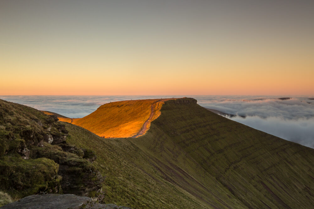 pen y fan, brecon beacons, brecon beacons national park, print, image, photographer, landscape photography, dragons breath, wales,