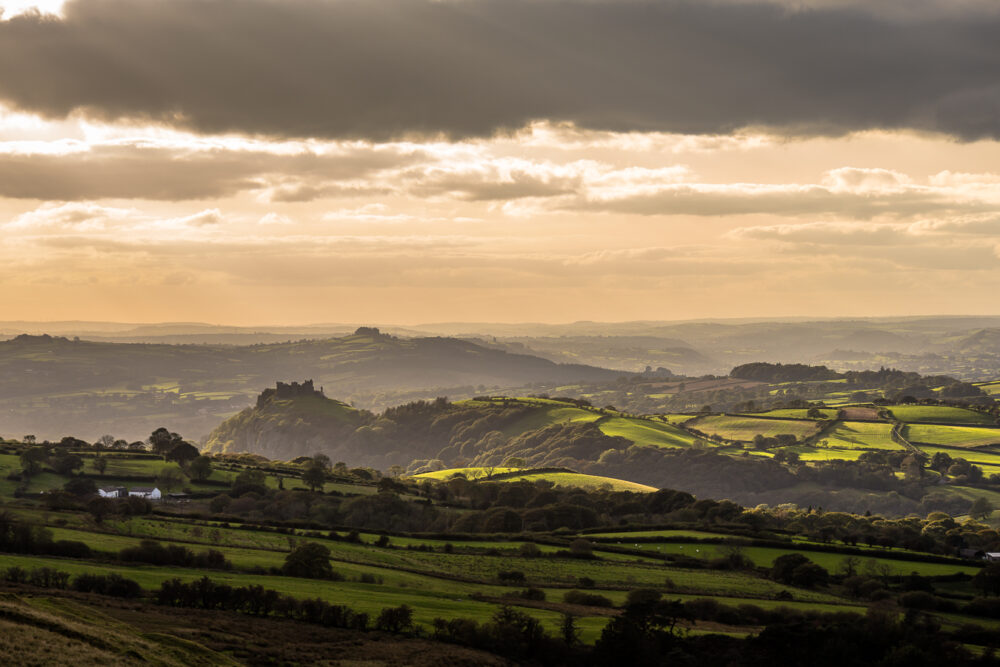carreg cennen, photography, photo, image, print, wales, brecon beacons, brecon beacons national park, landscape photography,